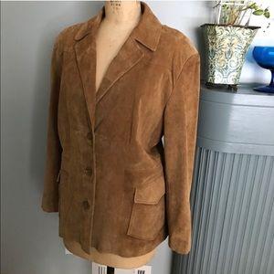 Genuine Leather Jacket size 22